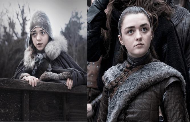 Game Of Thrones Le Visage Des Acteurs Dans La Saison 1 Et La 8 Photos